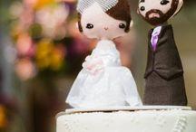 Topos de bolo - casamento