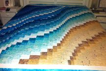 Quilting - Bargello / ultimate project