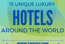 Cool Hotels Around the World / Showcasing some of the coolest hotels and accommodation all over the world.