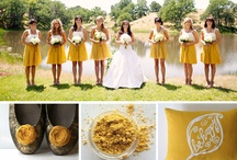 Wedding Color: Yellows & Golds