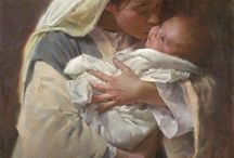 Madonna and Child / by Aloyce Levin