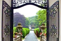 Iron gates and doors