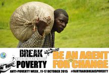 Anti-Poverty Week (11-17 October 2015) / Fair traders around the world, together with small producers and backed by consumers, are breaking the chains of poverty.The Wfto count doubled from 155 Fair Trade organisations in 2005 to 355 in 2014. The turnovers quadrupled from 136 to 448 million euros. To ensure their way out of poverty, producer-beneficiaries of WFTO members receive fair prices for their products, long-term income security, capacity-building and life-skills trainings, no discrimination, no slavery and good condition.