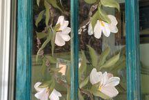 Окно в цвете