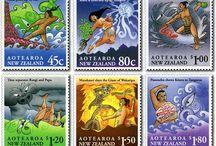Yr 10 Exams - Maori myths and stamps