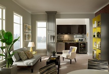 Gray & Black Rooms / 50 shades?  Try 100- selected to inspire.  / by BEHR®