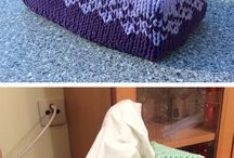 Tissue Box knitted