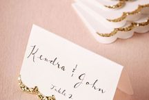 Ideas: Table Placecards