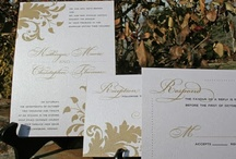 Gold Wedding Ideas / by Tiger Lily Invitations