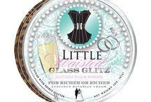 Little Waisted™ Glass Glitz™ Glittery Sugar™ Cocktail Rims / Shop our Glass Glitz™ Glittery Sugar™ and Salt Cocktail Rims at www.littlewaisted.com
