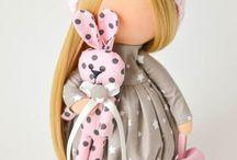 Куклы Большеножки & Тильда