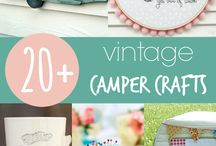 Vintage Camper Crafts