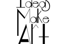 "Ideas Hechas Arte / ""Ideas Hechas Arte"", consiste en mostrar al diseño gráfico como algo inspirador, además de comercial."