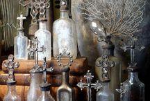 Vintage bottle craft
