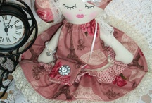 Handmade doll love / Keepsake dolls and pretty things created by Cath's Cottage