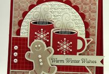 Stampin' alternative Christmas-don't follow this board / Please follow my Christmas card board instead.  This is only for cards that I will be making for a specific thing at my church.  It will only have one stamp set per year on it.