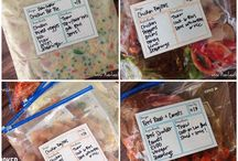 Dinner prep recipes / by Courtney Franke