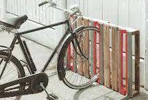 Bike racks DIY