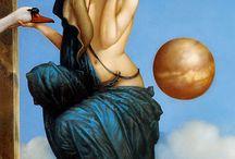 Imagine / L'imagination sans borne des artistes entrouvre la porte du rêve.