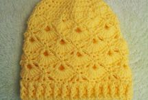 crochet hats/headbands All sizes / Various sizes of crochet hats and headbands.