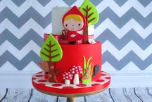 Red hidding hood birthday