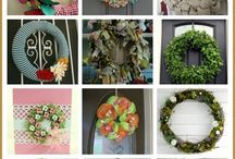 DIY WREATHS / by Karen Blasdel