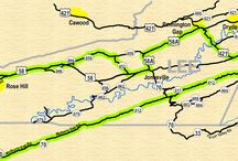 Appalachian Backroads / These are some of the beautiful scenic drives you can take in the Heart of Appalachia region.