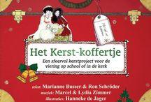 Het kerstkoffertje / Een sfeervol en betaalbaar kerstproject voor op school of in de kerk.