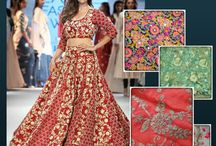 Embroidered Fabrics April 2016 / Designer collection for embroidered fabric, to look gorgeous in hot summers!