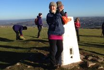 Crook Peak Ridge Walk / A stunning 7 mile ridge walk along the western edge of the Mendips with 360 degree views from Crook Peak.  The perfect Sunday walk, with a pub lunch at the New Inn, Cross to finish