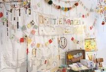 Decorated Office / office decor ideas & diy