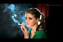 The Girl Smoking