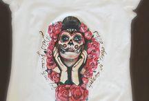 mis camisetas pintadas