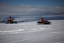 Snowmobiling in Iceland / Snowmobile tours in Iceland