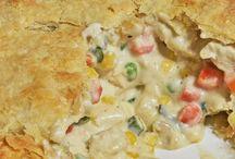 Pies, Pasties & Tarts / Savoury & sweet.