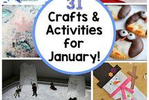január kreatív