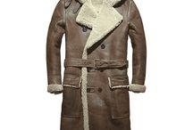 Sheepskin Trench Coat / Sheepskin trench coat, shearling trench coat, Sheepskin shearling Pea coat, Long shearling coat all in CWMALLS.COM
