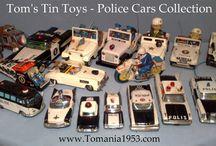 POLICE CARS - Vintage Models / Police Cars - Polizei - Polisi - Politi - Model Cars & Full Size Police Cars
