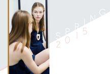 Spring 15 lookbook / Spring 15 lookbook