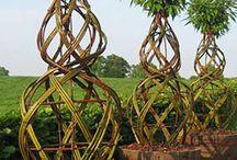 vrbové proutí-výroba dekorací
