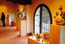 I Mestieri dell'Arte Fra Tevere ed Arno (Anghiari, 25/4 - 3/5) / Inaugurazione della Mostra allestita nei locali dell'ex Mattatoio di Anghiari