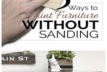 Painted Furniture Without Sanding