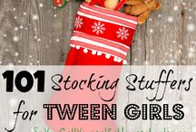 Gift Ideas for Tween Girls / They are so hard to shop for! Remember the good old days when you could stroll down the toy aisle and find things you knew she would like. Those days have been replaced by our tween girls who are more- shall we say- finicky? Here are some fun ideas!