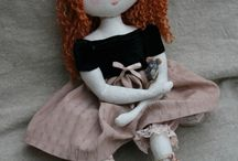 bambole / creazioni di stoffa
