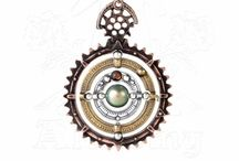Steampunk Jewellery and Accessories / Our range of mechanical and technical pewter steampunk style jewellery range.