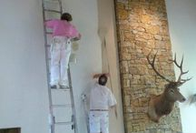 Interior House Painting Kansas City KS / The professional painters at Rusty's Dandy Painting have been trained and have years of experience, enabling us to work quickly and neatly - Rusty's Dandy Painting - 7801 Chadwick St. Prairie Village, KS 66208 - (913) 341-9125