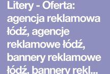 Litery przestrzenne podświetlane Łódź