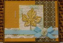 Card / Box  - Herbst - French Foliage / Herbst