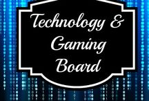 Technology & Gaming Board / Everything relating to the latest tech, including video games, computer hardware, software, & other info in the tech field.  / by Susan Bewley