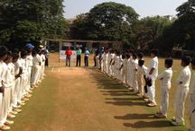 Khiladi Connect's U-14 Cricket Challenger Cup / The second edition of the Khiladi Connect's U-14 Cricket Challenger Cup was flagged off by an avid cricket enthusiast, Mr. Subhash Shinde of the Crime Branch of the Police department.